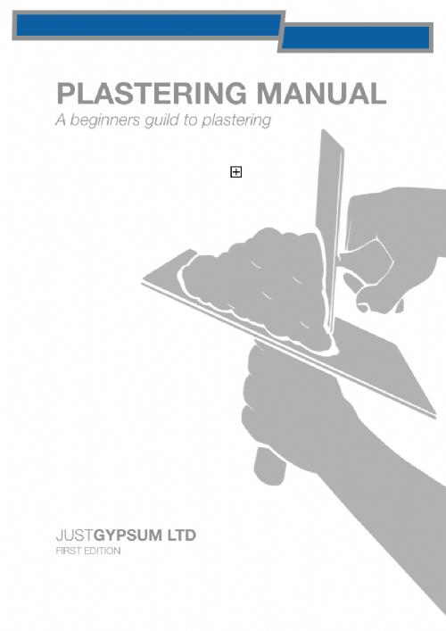 Plastering Manual
